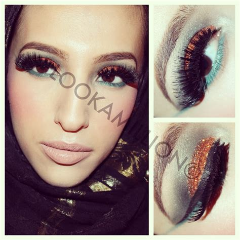 Fnd Labels Safiyah safiyah tasneem fff copper green cut crease makeup look collaboration