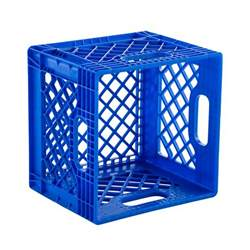 colored milk crates milk crate authentic dairy crate the container store