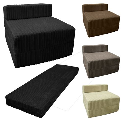 fold out chair bed jumbo cord fold out chair sofa bed z guest folding futon