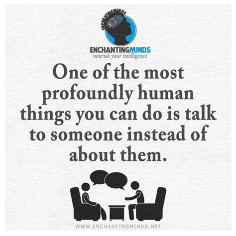 Things Most Talking About by One Thing Quotes Quotesgram