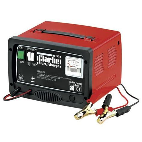 car battery charger engine starter clarke tools chronos bc130c battery charger engine starter