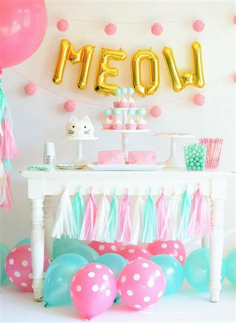 Kitten Themed Baby Shower by How To Throw The Purr Fect Kitten Baby Shower