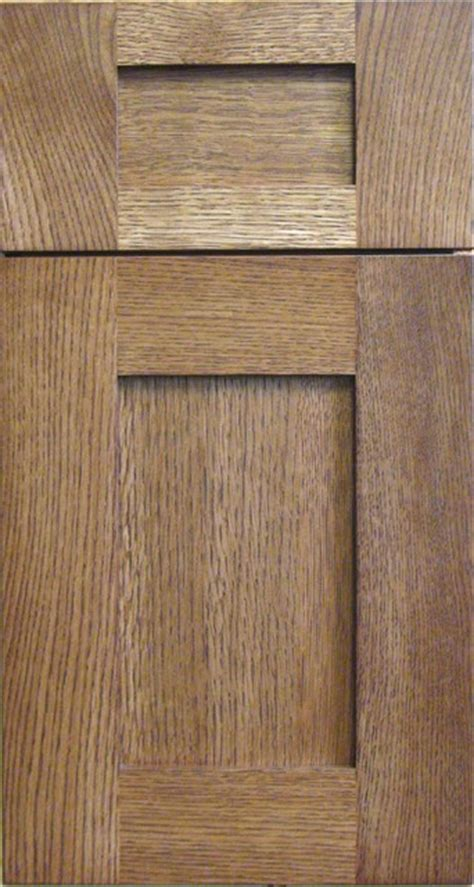 White Oak Kitchen Cabinet Doors Rift Cut White Oak Shaker Cabinet Door Drawer Traditional Kitchen Cabinetry Other By