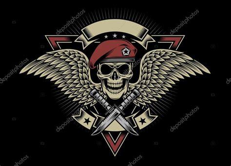 imagenes de calaveras soldados cr 226 ne de militaire avec des ailes et dagues image