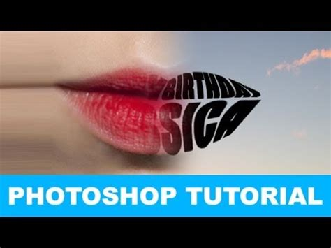 tutorial nvu youtube how to warp text into a shape in photoshop tutorial youtube