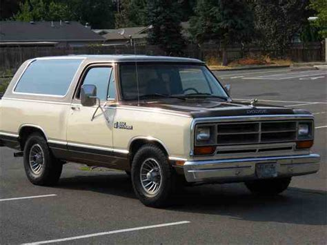 dodge ramcharger classic dodge ramcharger for sale on classiccars 7