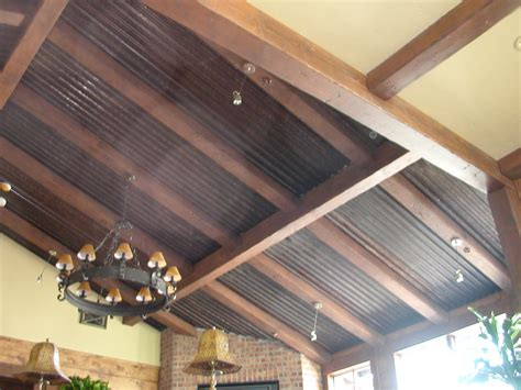 metal roof ceiling homes with corrugated metal ceiling corrugated metal