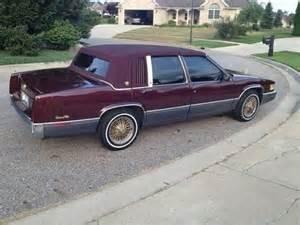 1989 Sedan Cadillac Find Used 1989 Cadillac Base Sedan 4 Door 4 5l In