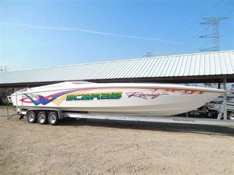 scarab boats racing high performance boats for sale in kemah texas