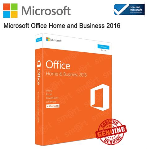 Microsoft Office 2016 Homebusiness Fpp For Mac Medialess Asli Resmi smart solution computer ครบวงจร เร องอ ปกรณ ไอท product