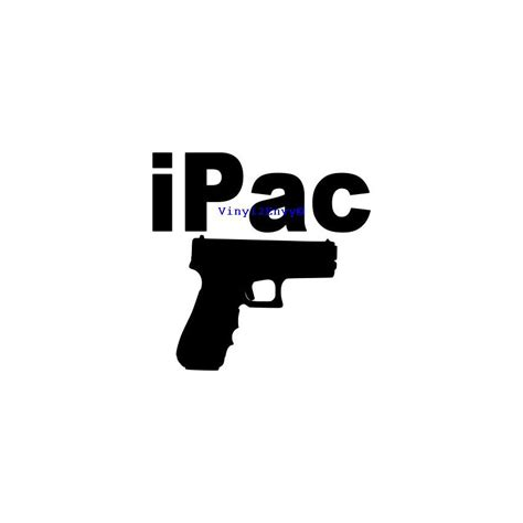 Sticker Letters For Walls ipac gun car decal vinyl car decals vinyl car window decal