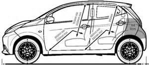 Toyota Aygo Length