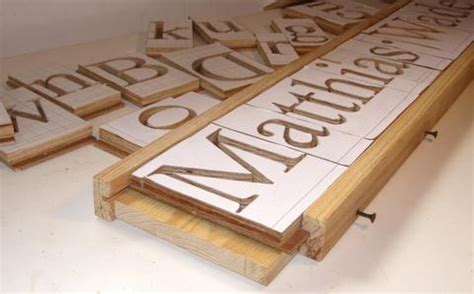 making 3d letters with the pantograph