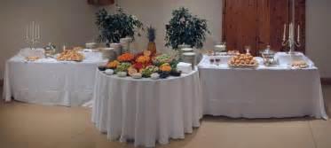 Food Buffet Table Ideas Wedding Reception Food Table Setups Brief Description Of