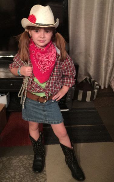 year  creates cowgirl costume  thrift finds