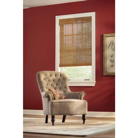 www home decorators home decorators collection honey bamboo weave roman shade