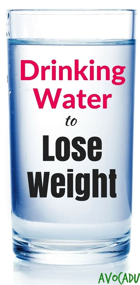 Can You Lose Weight By Detox Water by How More Water Can Help You Lose Weight
