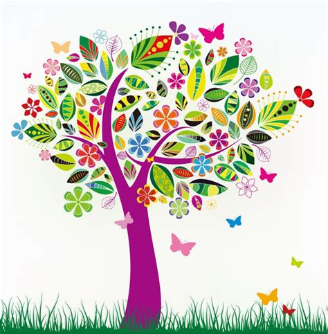 pattern design tree name abstract tree with flower patterns flowers in nanopics