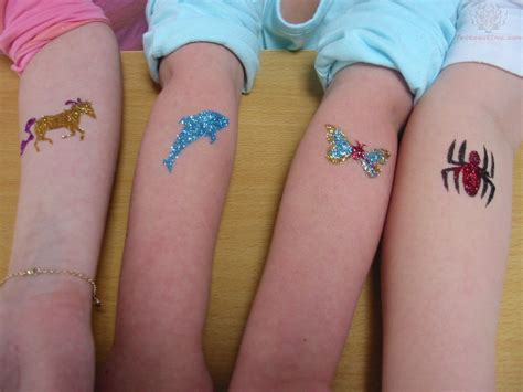 sparkle tattoo glitter tattoos askideas