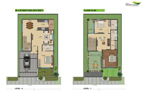 30x50 house design floor plan icon infra shelters pvt ltd icon