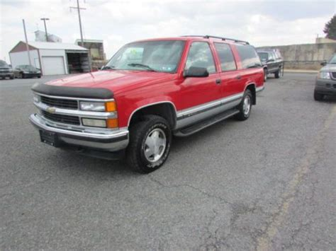 how cars engines work 1996 chevrolet suburban 1500 parental controls sell used free 1996 chevrolet k1500 suburban ls 5 7lv8 4x4 parts truck mechanic special in new