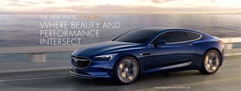 2017 Buick Lacrosse Coupe by 2017 Buick Avista Concept Car Buick Canada