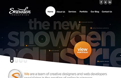 css layout inspiration 60 finest fresh css website designs for design
