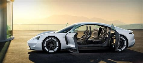 porsche electric mission e porsche mission e concept electric supercar