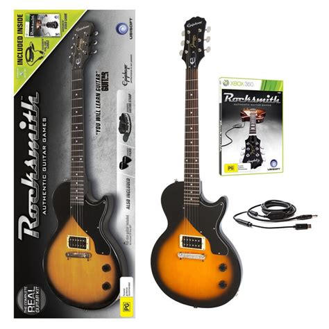 learn guitar using rocksmith rocksmith guitar bundle xbox 360 the gamesmen
