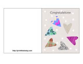 free wedding cards free printable wedding congratulations cards