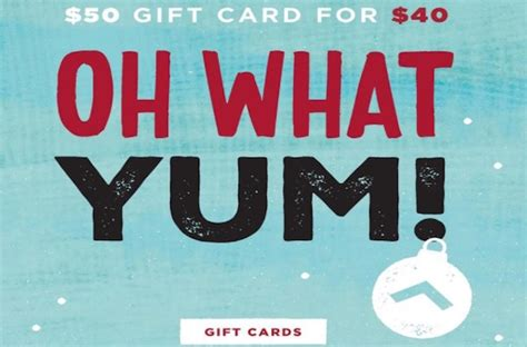 Sa Gift Card - holiday gift card special orderup