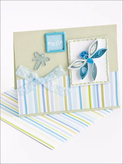 Paper Crafting Techniques - paper crafting card patterns technique quilled card