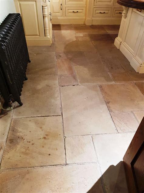 care of sandstone floors sandstone kitchen floor renovation for national trust in