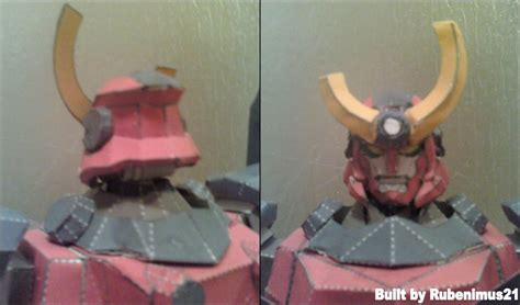 Gurren Lagann Papercraft - gurren lagann papercraft finished by rubenimus21 on