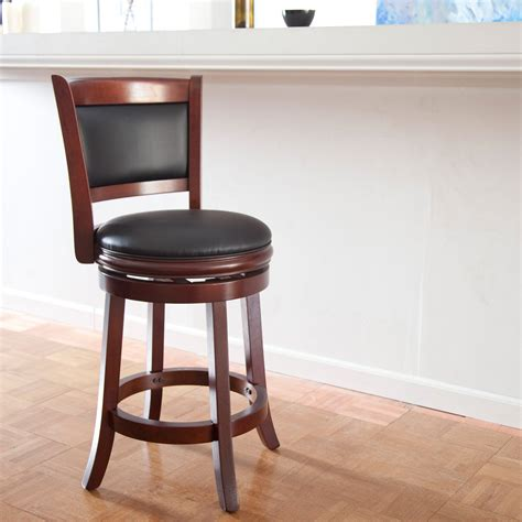 Boraam Augusta 24 In Swivel Counter Stool by Boraam Augusta 24 In Swivel Counter Stool The Boraam 24