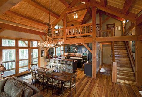 cottage open floor plan