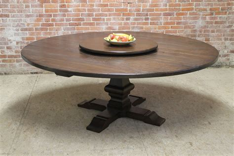 round table with lazy susan 80 inch round table with venetian pedestal and lazy susan