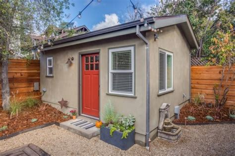small backyard guest house 250 sq ft backyard tiny guest house