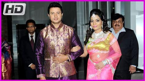 actor raja and his wife actor raja wedding reception photos hd youtube