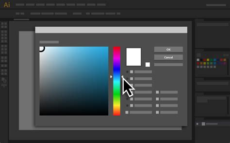 html color picker from image how to use the color picker adobe illustrator tutorials