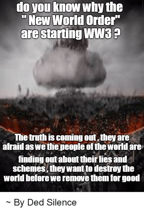 New Meme Order - 25 best memes about new world order new world order memes