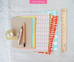 Cool Ways To Fold Notebook Paper - diy duct and patterned paper notebooks diy crafts
