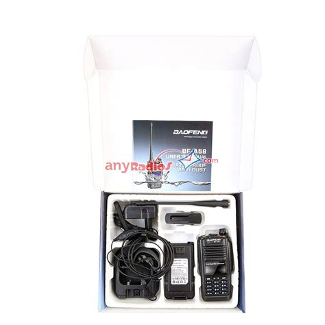 Ht Baofeng A58 Waterproof baofeng bf a58 dual band two way radio waterproof transceiver walkie talkie two way radio ptt