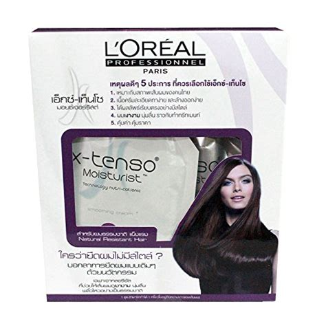 Sho Loreal X Tenso l oreal x tenso straightener straightening hai for