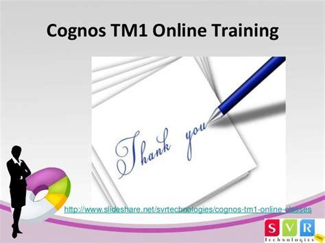 online tutorial net cognos tm1 online training