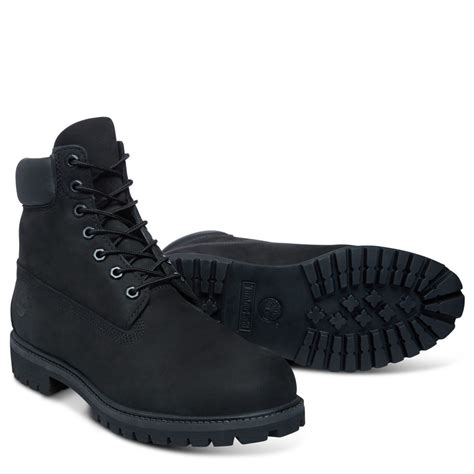 mens black 6 inch timberland boots timberland mens 6 inch boots