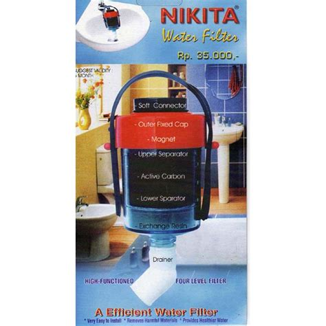 Saringan Air Water Filter Filter Kran Air 2 Tingkat filter air keran saringan kran air water filter