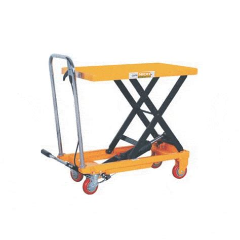 scissor lift platform table trolleys scissor tables