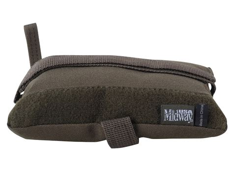 the bench com midwayusa tactical rear shooting rest bag olive drab square