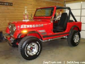 Jeep Renegade Cj7 For Sale Uk 302 Found
